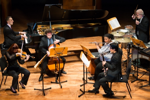 Aperio performs at the Hobby Center in Houston - photo by Trish Badger