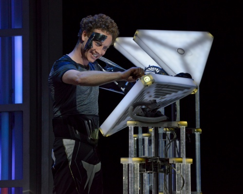 Hal Cazalet as Nicholas - photo by Karen Almond, Dallas Opera