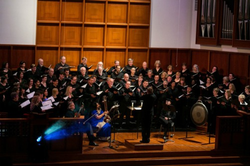 Conspirare Symphonic Choir - Photo by Danny Brod