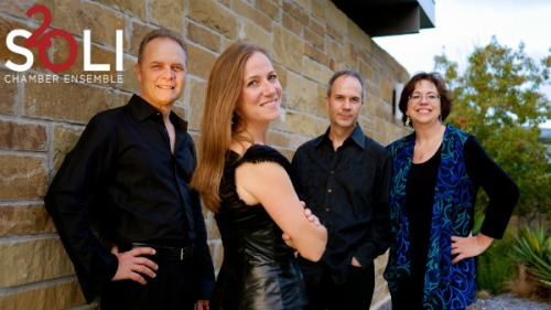 SOLI chamber ensemble. Photo by Jason Murgo