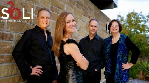 SOLI chamber ensemble. Photo by Jason Murgo